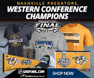 Shop for 2017 Nashville Predators Western Conference Champs Fan Gear