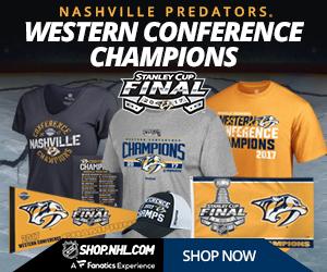Shop for 2017 Nashville Predators Western Conference Champs Fan Gear