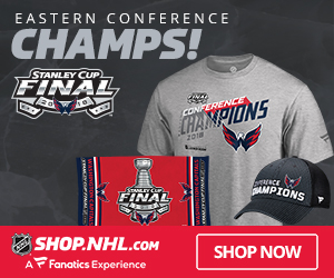 Get your Washington Capitals Eastern Conference Champs Gear at Shop.NHL.com