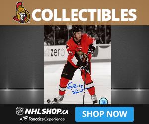 Shop for Ottawa Senators Collectibles and Memorabilia at NHLShop.ca