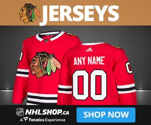 Shop for Chicago Blackhawks jerseys at NHLShop.ca