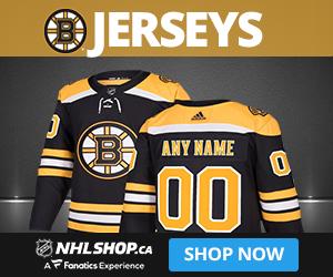 Shop for Boston Bruins jerseys at NHLShop.ca