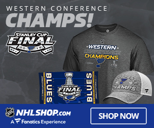 The Blues are Stanley Cup Finals Bound - shop for Western Conference Champs Gear at Fanatics