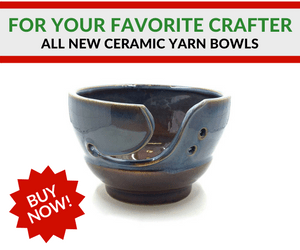 NEW Ceramic Yarn Bowls