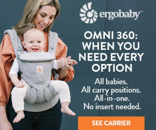 Ergobaby Omni 360: When You Need Every Option