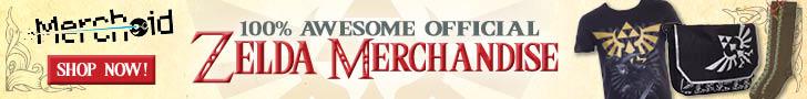 Official Zelda Merchandise