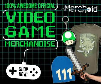 Merchoid - 100% Awesome official Videogame Merchandise