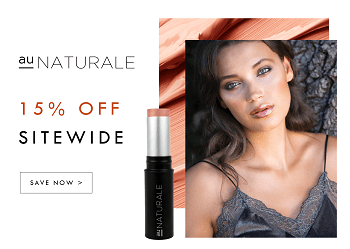 Save 15% off green beauty