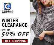 Cupshe Winter Clearance! Up to 50% Off! Free Shipping!