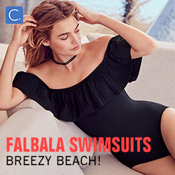 Breezy Beach! Falbala Swimsuits!Fast Delivery! Shop Now!