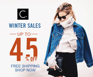 Winter Sales! Up to 45% Off! Free Shipping! Shop Now!