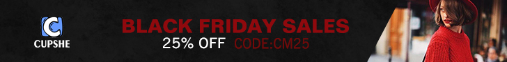 Black Friday Sales! 25% OFF! Code: CM25! Free Shipping!
