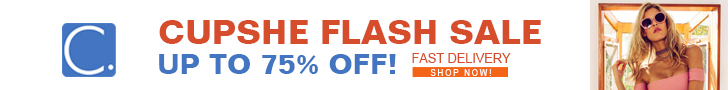 Cupshe Flash Sale! Up to 75% Off! Fast Delivery! Shop Now!