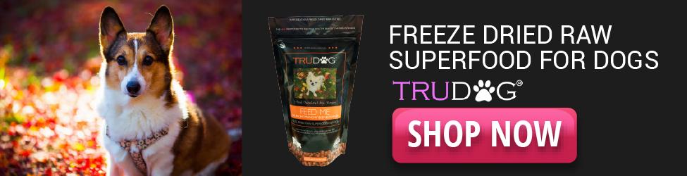 TruDog - Freeze Dried Raw Superfood - 975x250