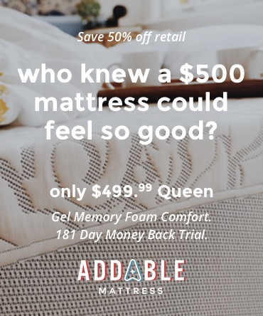 Who knew a $500 memory foam mattress could feel so good?