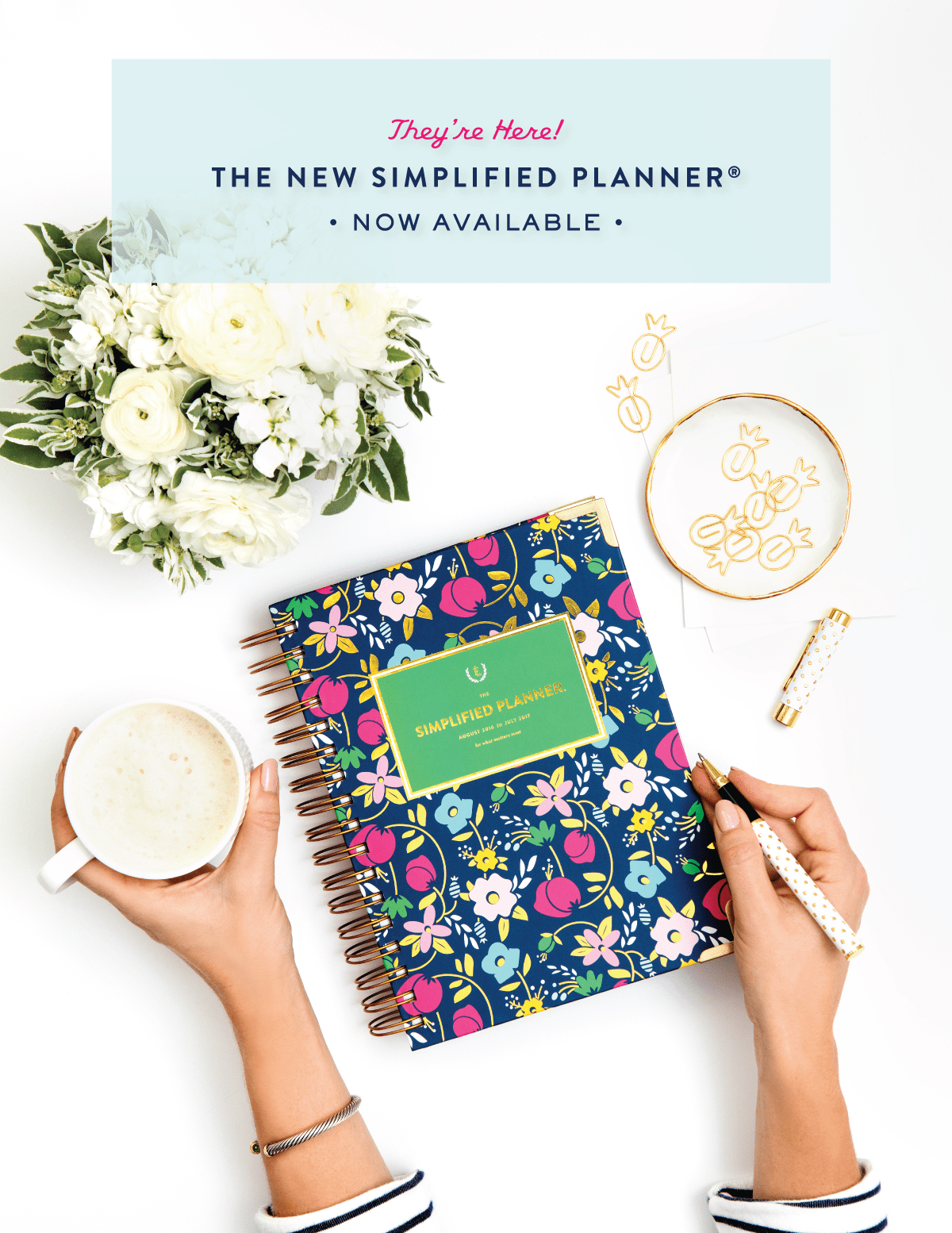 Simplified Planner by Emily Ley