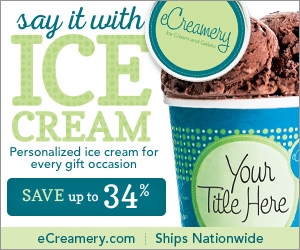 eCreamery - Personalized ice cream for every gift occasion