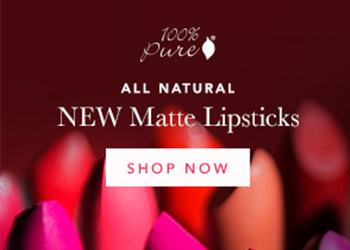 100% Pure Matte Lipsticks