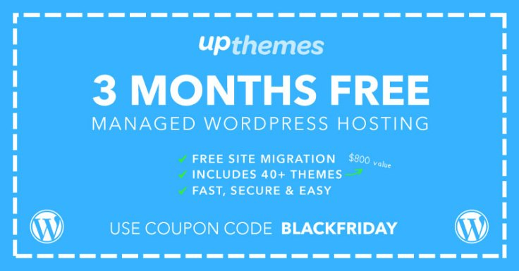 3 Months Free WordPress Hosting!