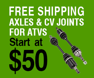 Axles and CV joints
