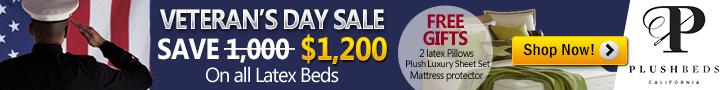 Veteran's Day Mattress Sale