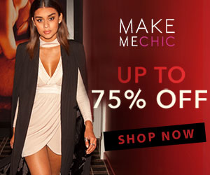 Black Friday starts NOW - Save up to 75% at MakeMeChic! Limited Time Offer