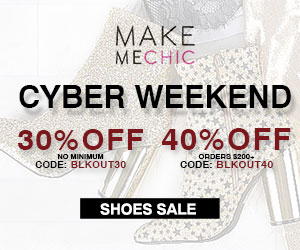 Save 30% on Shoes orders of $100 or more at MakeMeChic. Use code SHOES30. Sale ends soon