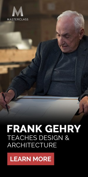 FRANK GEHRY TEACHES DESIGN AND ARCHITECTURE