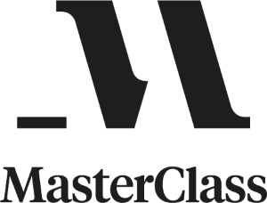 MasterClass Logo Lockup Small Charcoal N