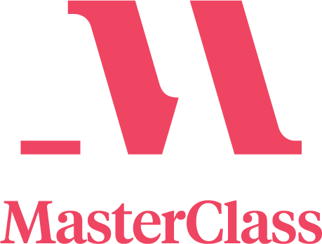 MasterClass Logo Lockup Small Red