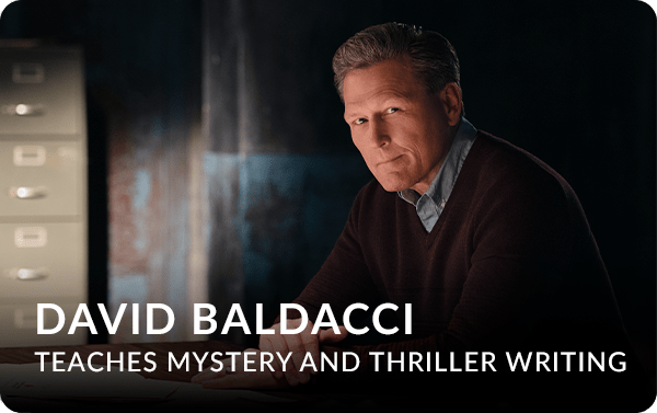 David Baldacci Teaches Mystery & Thriller Writing