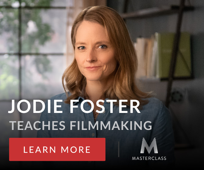 Jodie Foster Teaches Filmmaking