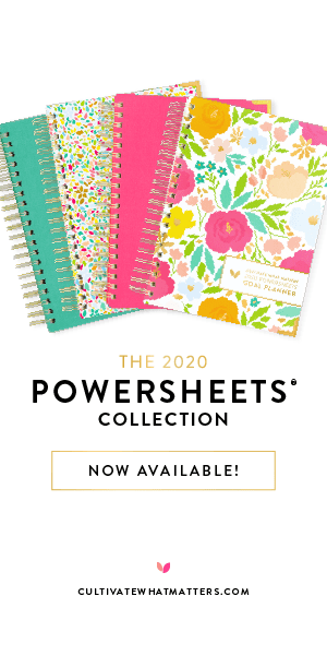 PowerSheets Cultivate What Matters