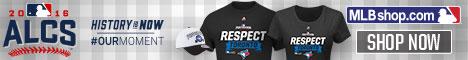 Blue Jays Fans represent in 2016 MLB Postseason Fan Gear from MLBShop.com