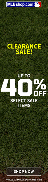 Save up to 50% in the MLBShop.com Clearance Shop