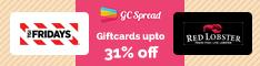 Restaurants Gift Cards