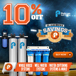10-12% Off Whole House Water Systems* + 20% Off Drinking and Shower Filters *12% Off PSE1800 & PSE2000