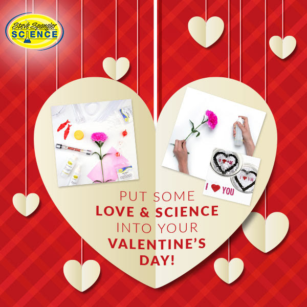Put some love and science into your Valentine's Day