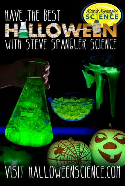 Halloween Science Experiments at Spangler Science
