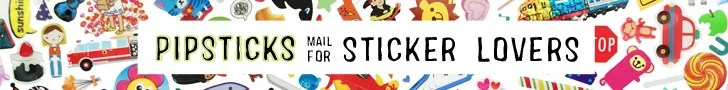mail for sticker lovers.