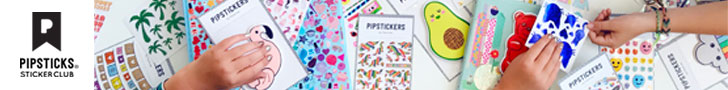 Pipsticks Sticker Club