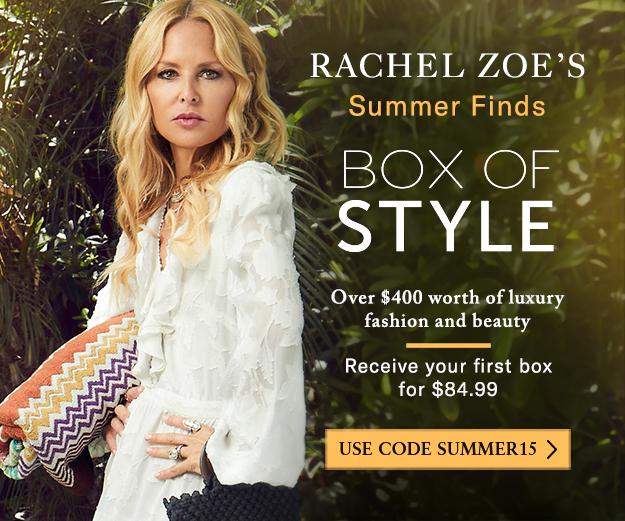 Rachel Zoe's Box of Style Summer 2019