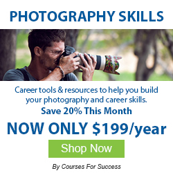 Grow your photography Skills through online training