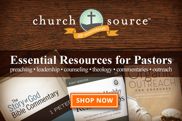 Pastor Resources Ad