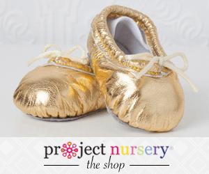 Gold Ballet Slippers