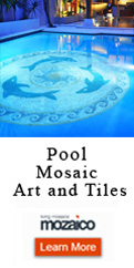 Mosaic Art In Pools