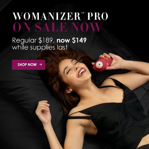 Womanizer Pro - Save $50, Now only $149,