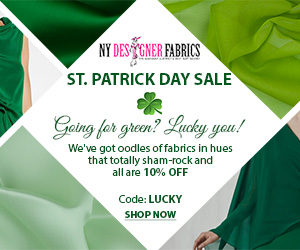 St. Patrick's Promotion. Use Code: LUCKY at Checkout and Get 10% Off Site Wide