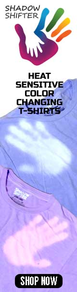 Color Changing Shirts for Kids and Adults