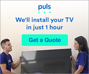 TV Installation in Just 1 Hour from Puls